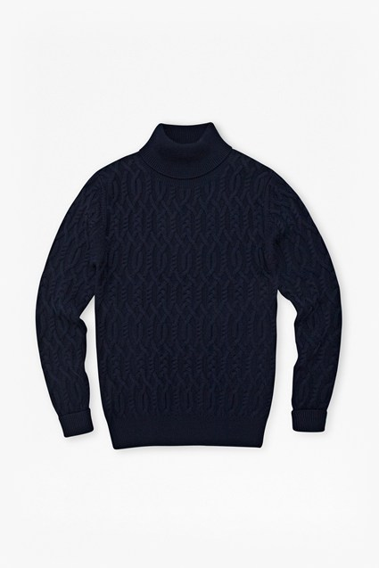 Commodore Cable Knit Jumper