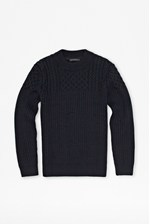 Looks Great With Huntsman Cable Knit Jumper