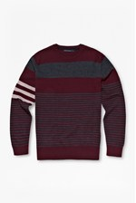 Looks Great With Freighter Merino Striped Jumper
