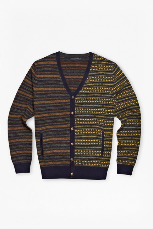 Pheasant Two-Tone Fair Isle Cardigan