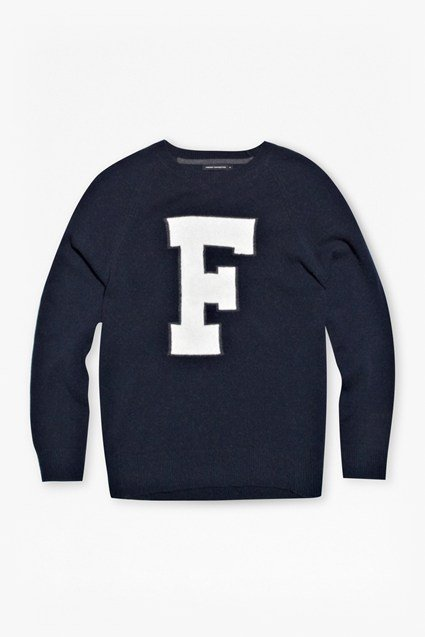 Outline F Knitted Jumper
