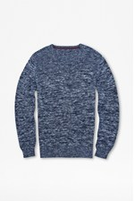 Looks Great With Rick Rack Indigo Jumper