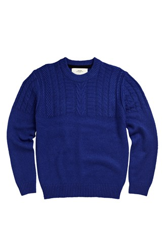 Trino Textured Wool Jumper