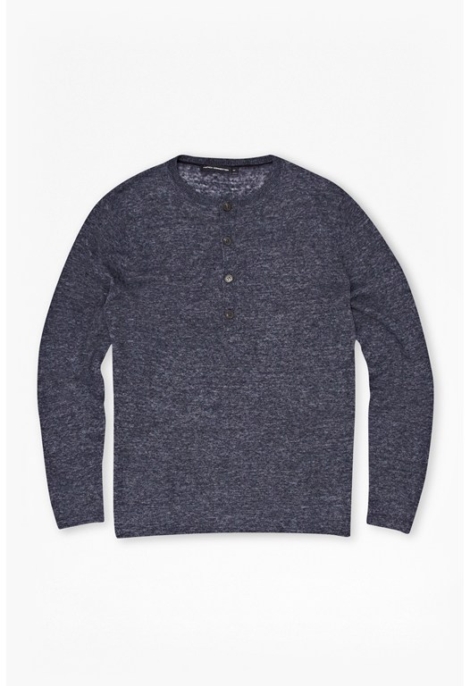 Vincent Knits Henley Jumper