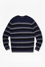 Looks Great With Merino Wool Stripe Jumper