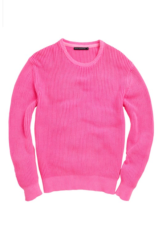 Fluro Textured Jumper