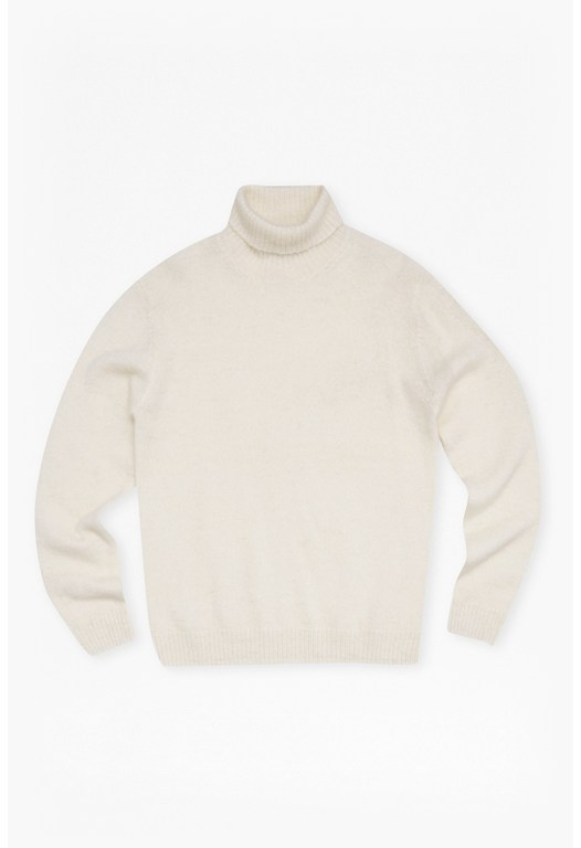 Wool Roll Neck Jumper