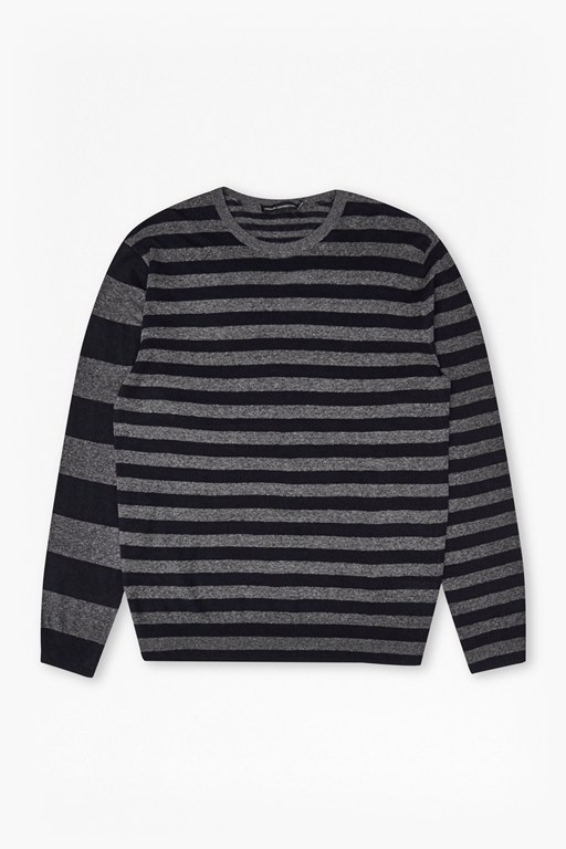 Mix Stripes Linen Knit