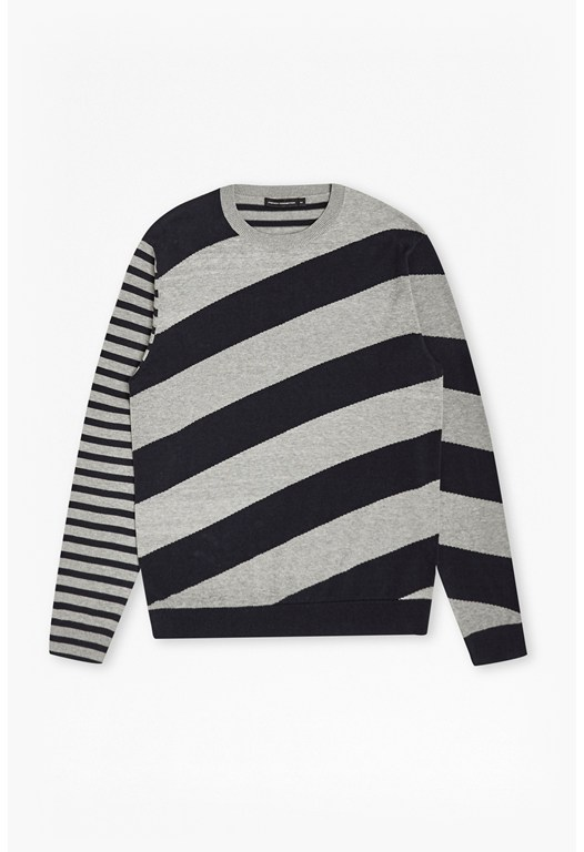 Diagonal Stripe Jumper