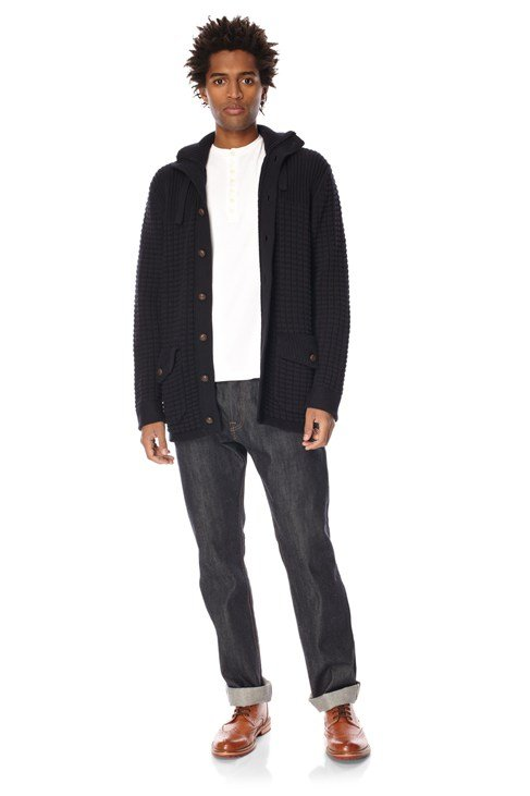Dexter Chunky Cotton Cardigan