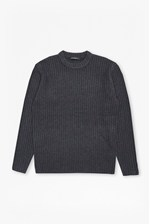 Looks Great With Geodes Knit Fisherman Jumper