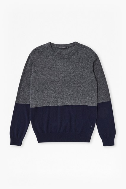 Winter Block Lambswool Jumper