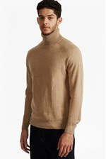 Looks Great With Autumn Portrait Knit Roll Neck Jumper