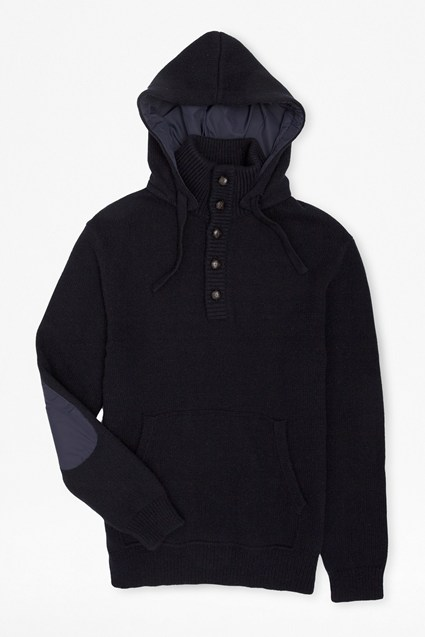 Infantry Patch Hooded Jumper