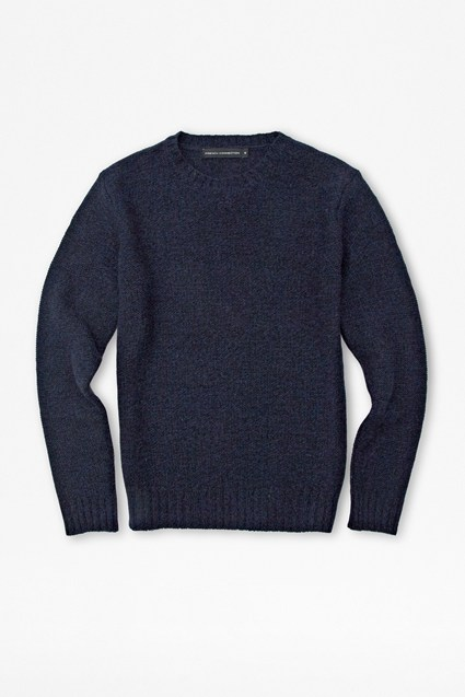 Italian Elbow Patch Wool Knit