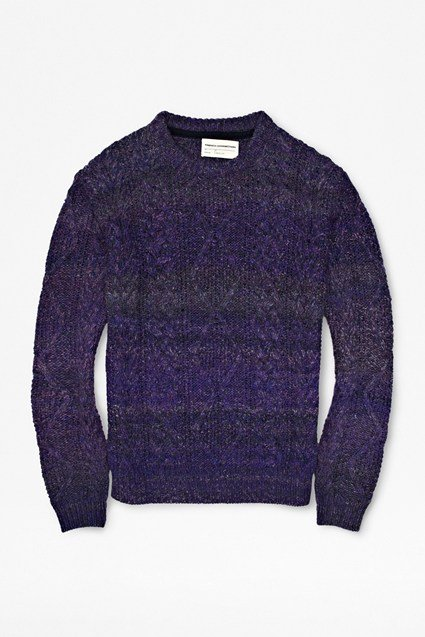 Twisted Wool Cable Jumper