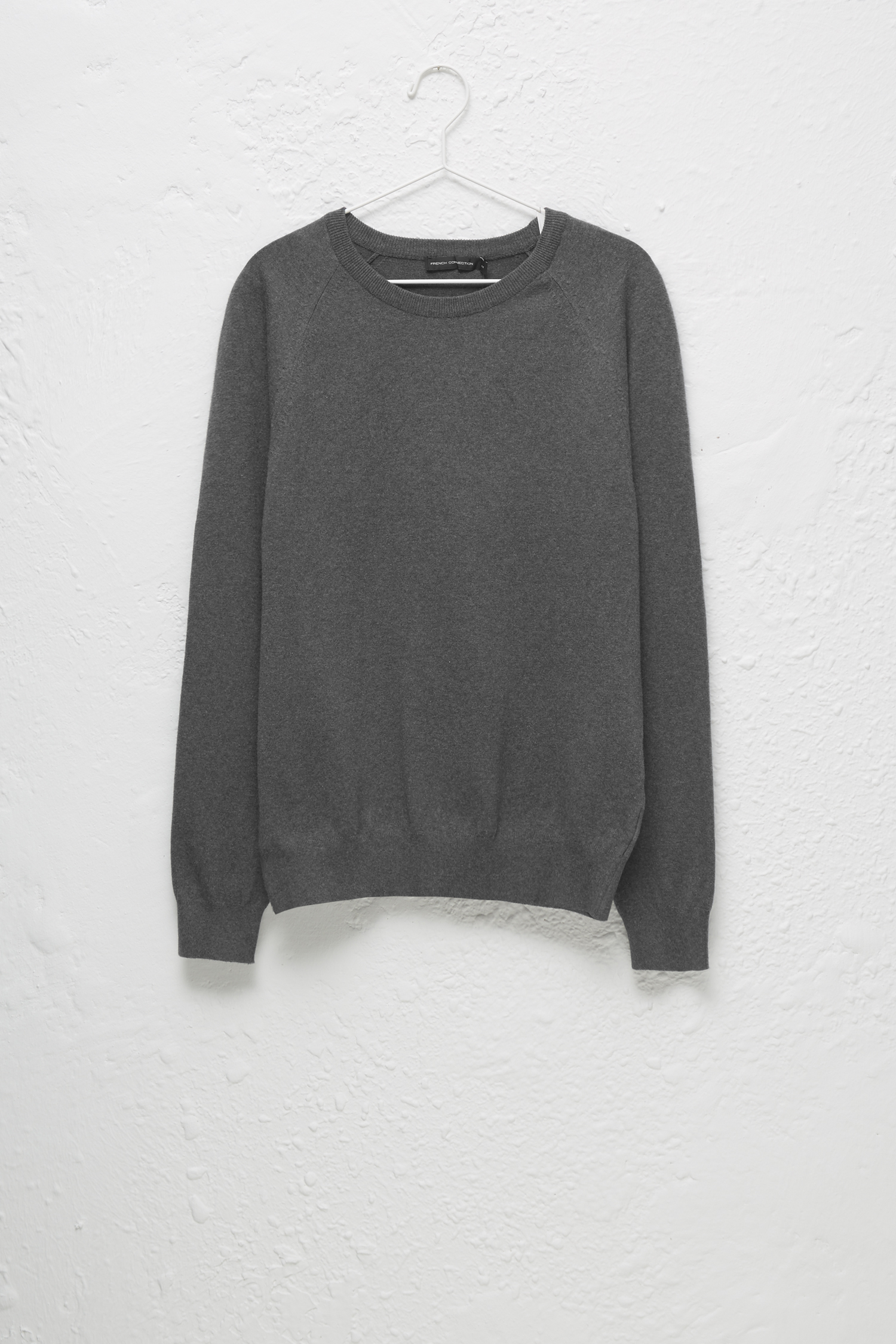 c65e574322919a Stretch Cotton Crew Neck Jumper | Collections | French Connection