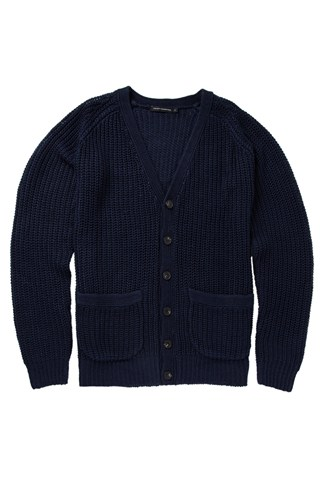 Ivy Linen Ribbed Cardigan