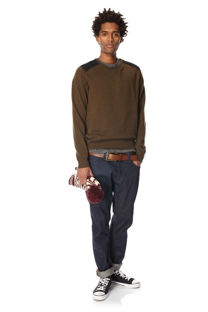 Parry Patch Wool Jumper