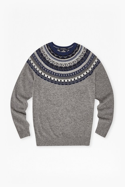 Winter Fair Isle Novelty Jumper