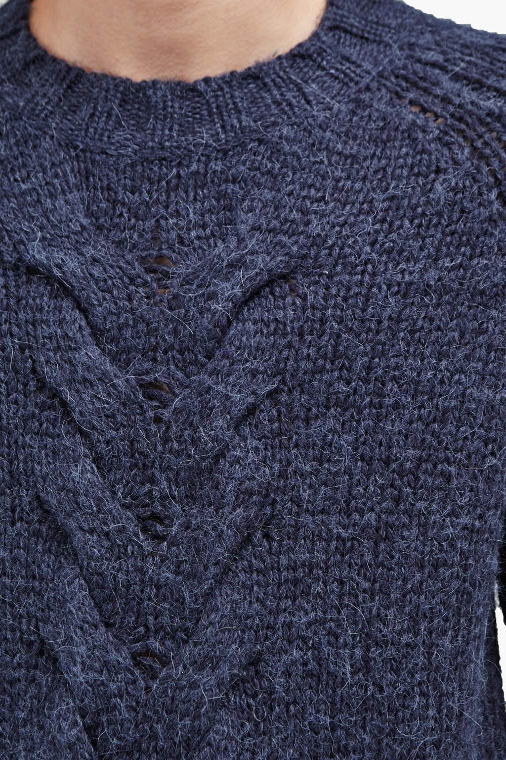 da729d8933 Ridge Cable Knit Jumper