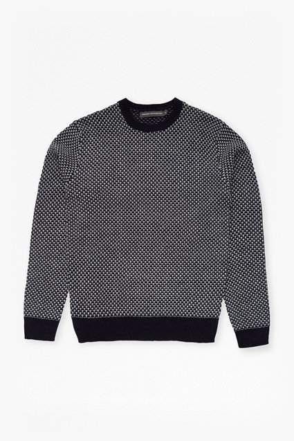 Geo 2 Knitted Wool Jumper