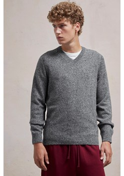Lambswool Elbow Patch Jumper