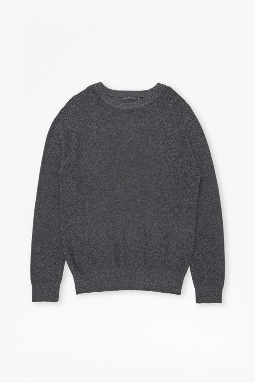 Complete the Look Winter Cotton Rib Knit Jumper