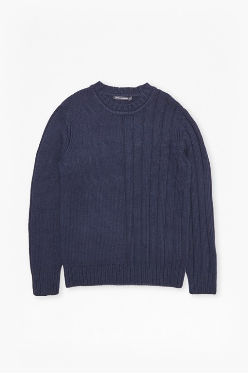 cotton wool mixed stitch jumper