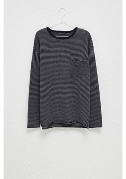Linen Cotton Breton Knit Top
