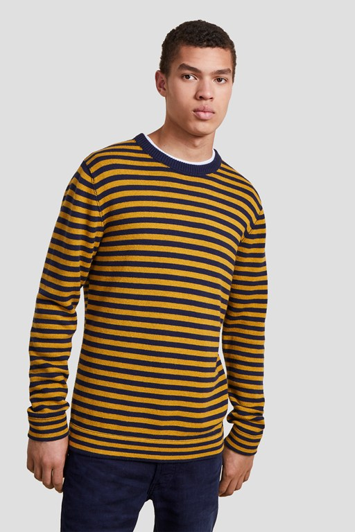 Complete the Look Cotton Wool Stripe Jumper
