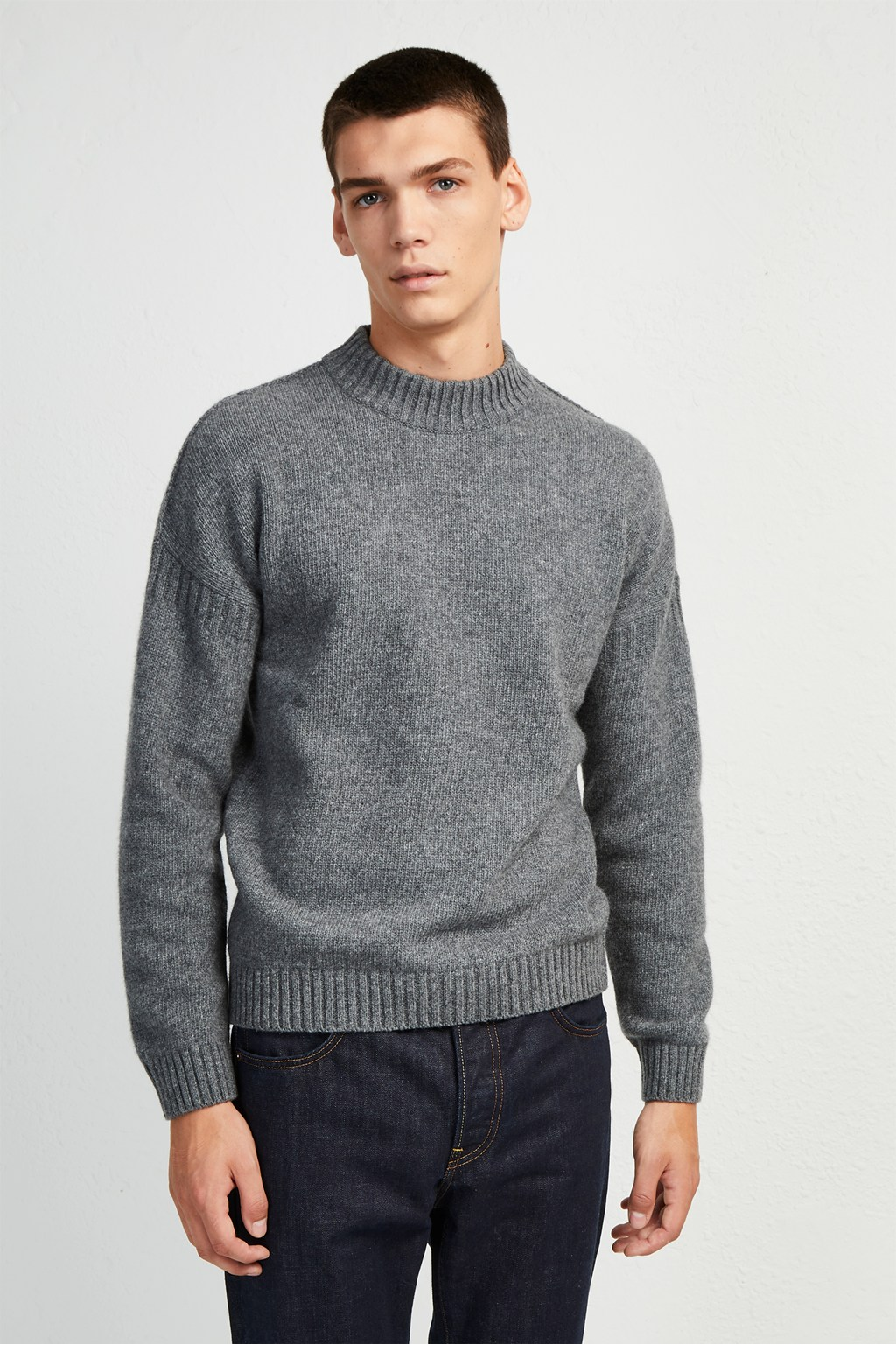 1fb818c8 Fisherman Wool Crew Neck Jumper | Collections | French Connection