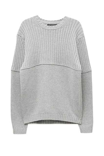 Cotton Wool Split Linked Jumper