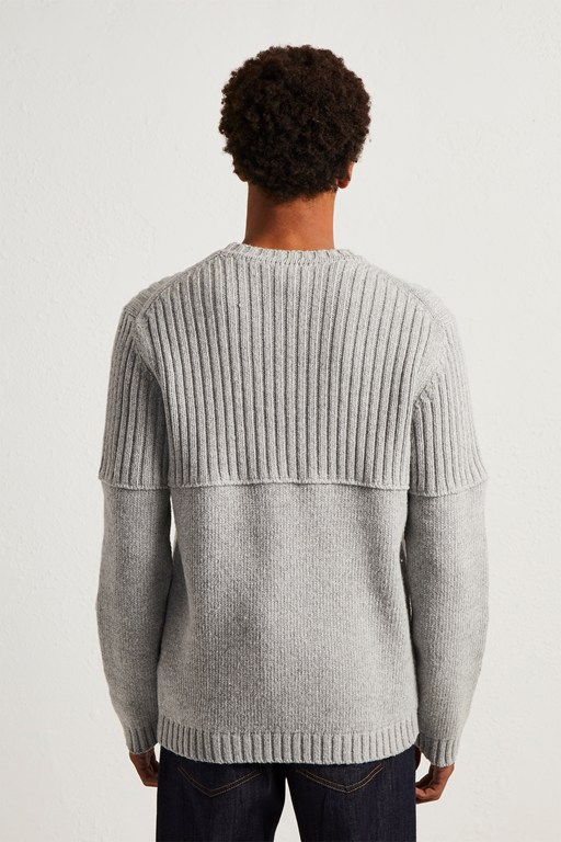 Complete the Look Cotton Wool Split Linked Jumper