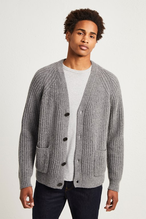 supersoft wool cashmere cardigan