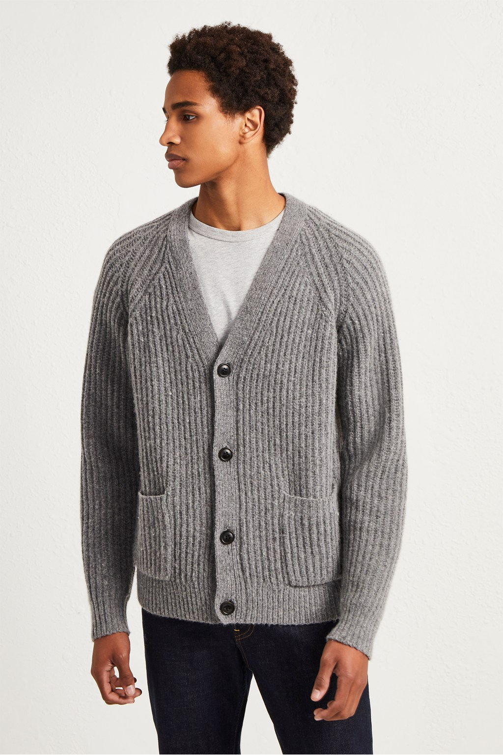 Supersoft Wool Cashmere Cardigan. loading images. e92ffa404