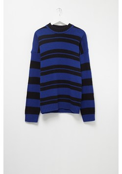 Cotton Wool Varsity Stripe Jumper
