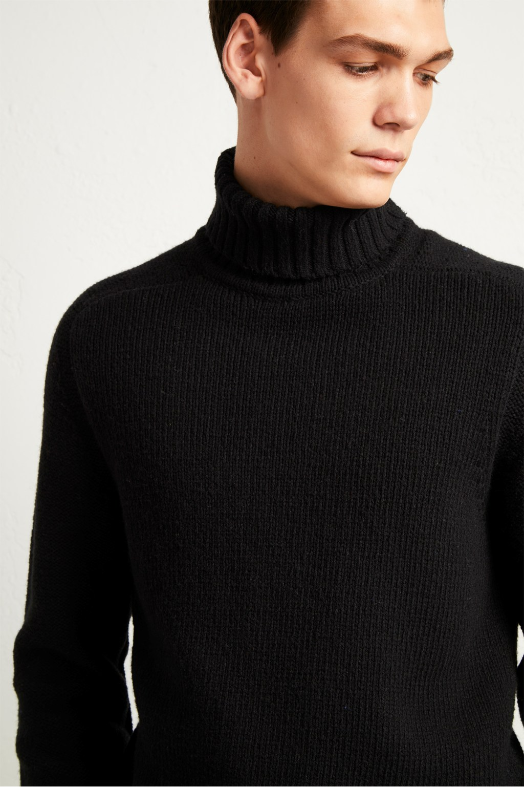 delicate colors enjoy free shipping find workmanship Cotton Wool Chunky Roll Neck Jumper
