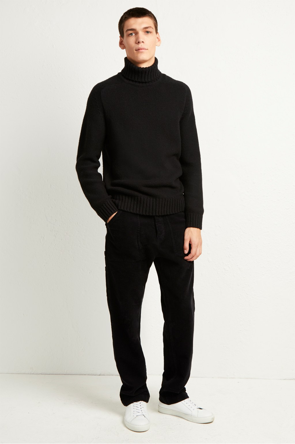 6f1fbb340 Cotton Wool Chunky Roll Neck Jumper. loading images.