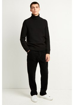 Cotton Wool Chunky Roll Neck Jumper