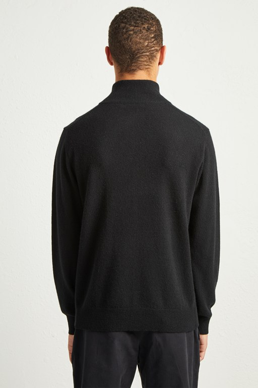 Complete the Look Cashmere Half Zip Jumper