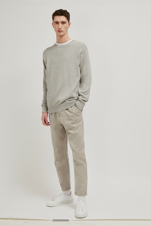 mozart plain cotton jumper