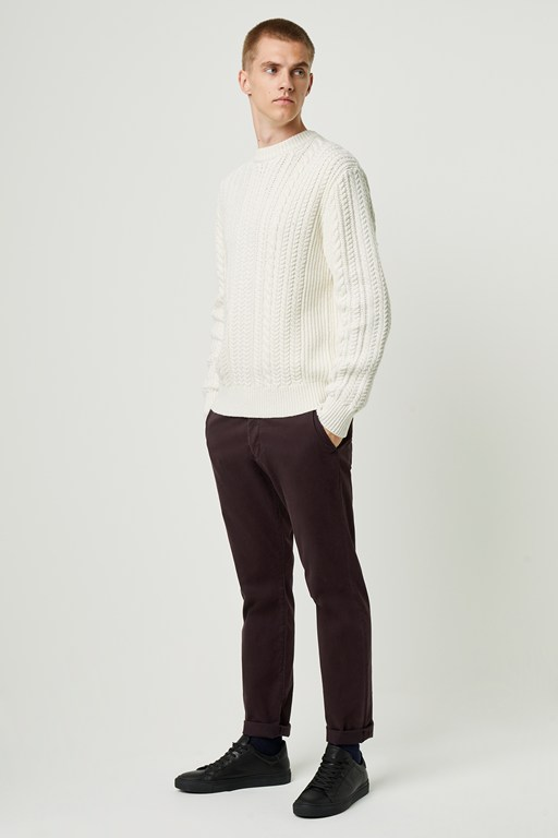 Complete the Look Heritage Cable Knit Jumper