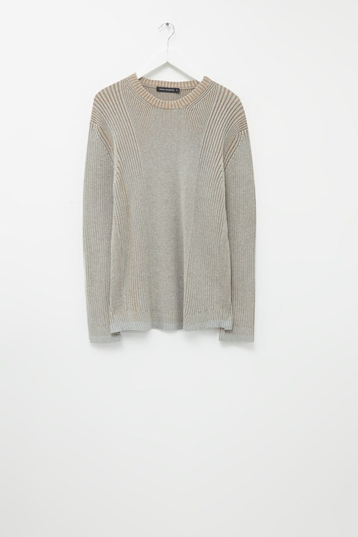 cotton plaited jumper