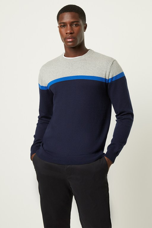 Complete the Look Core Cotton Stripe Jumper