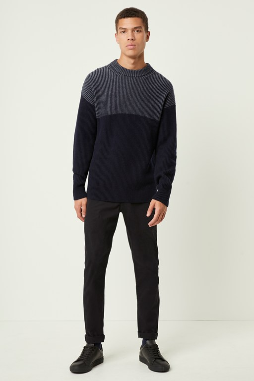 Complete the Look Fishermans Stripe Jumper
