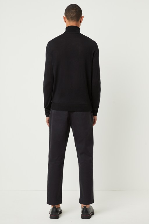 Complete the Look Modern Viscose Roll Neck