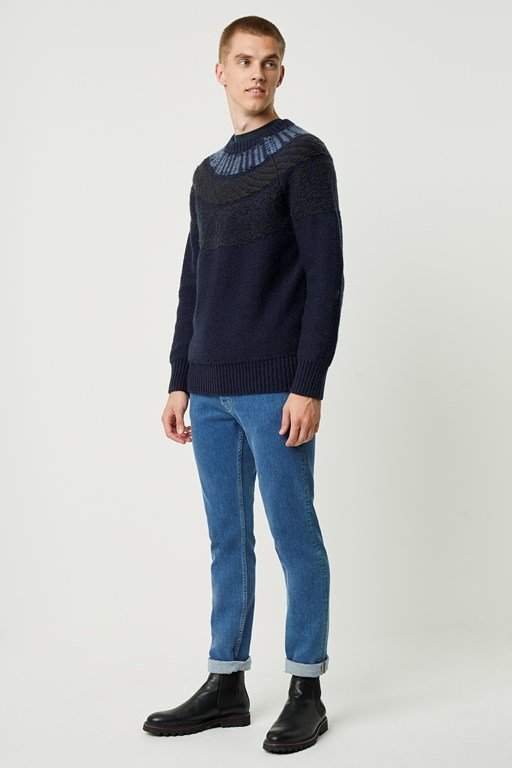 fairisle raglan jumper