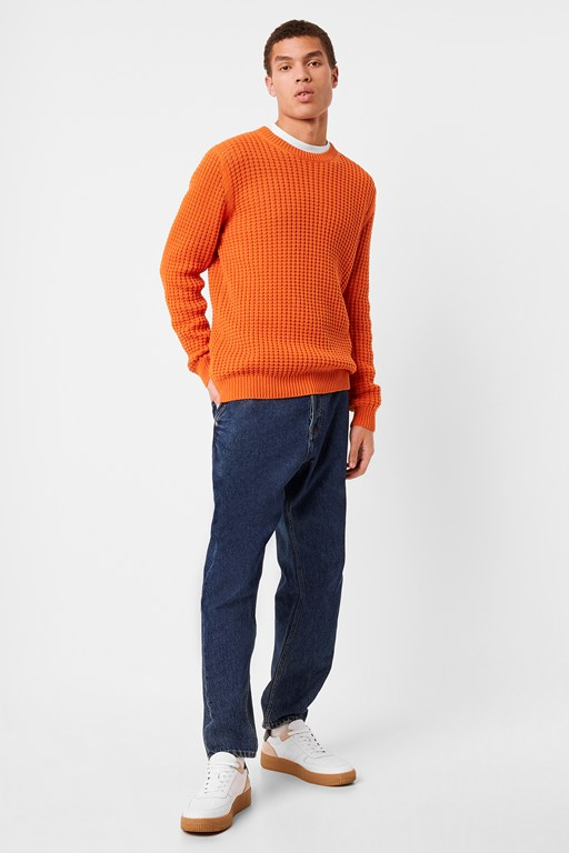 Complete the Look Auderley Waffle Knit Jumper