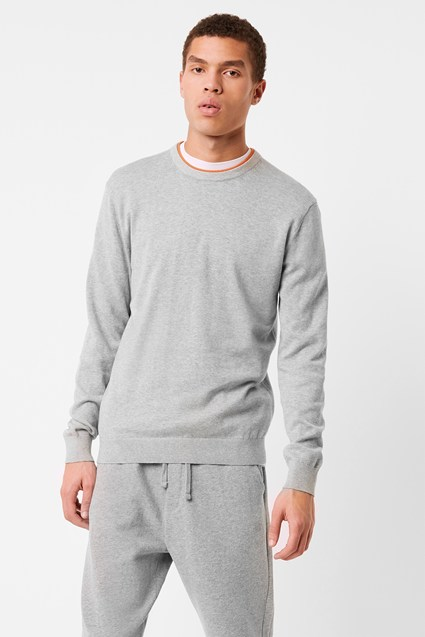 Auderley Double Neck Trim Sweatshirt